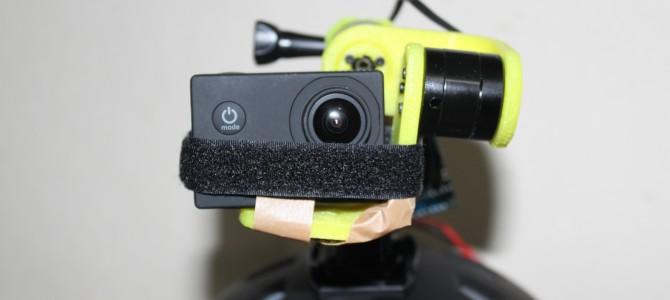בניית גימבל לייצוב מצלמת GOPRO על קסדה